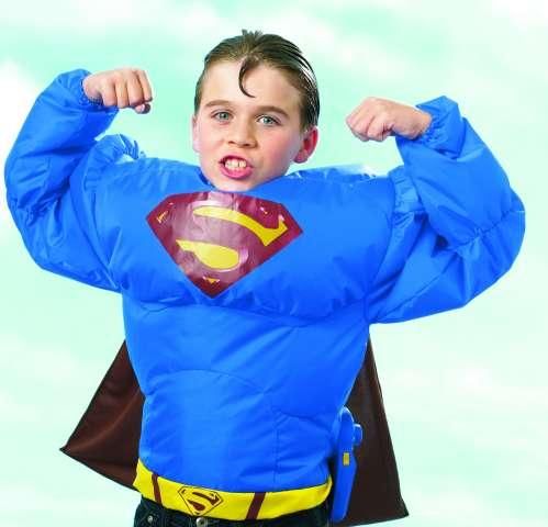 Superman super nafukovací oblek
